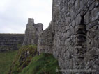Dunluce Castle, Antrim coast, Northern Ireland
