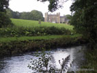 Glenarm castle from river