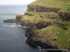 Sea cliffs on the North Antrim Coast
