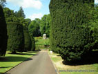 Hillsborough Castle grounds on a sunny day