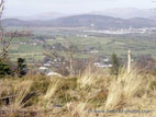 View towards Castlewellan from top of hill