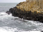 Basalt columns at the Giant's Causeway, Northern Ireland