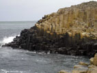 Basalt columns at the Giant's Causeway World Heritage Site, Northern Ireland