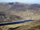 Above Silent Valley reservoir in the Mourne Mountains