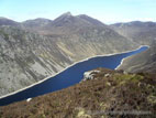 Ben Crom reservoir, Mourne Mountains