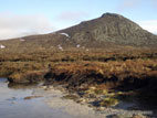 Doan in winter sun, Mournes