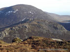 View from Doan summit towards Slieve Lamagan
