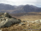 View in the Mourne Mountains