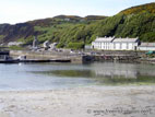 View of Rathlin Island harbour