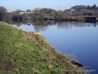 River Bann in winter sun